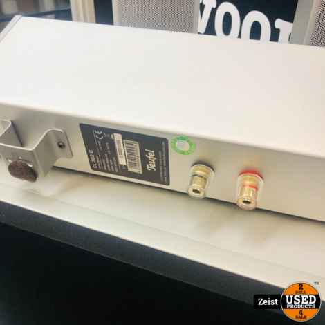 Teufel 5.1 Dolby Surround Set | US 4110 Subwoofer | 2x CL 302 FR Zuil Speakers | 2x CL 302 C L, R, Speakers | 1x CL 302 C Center Speaker | Zilver