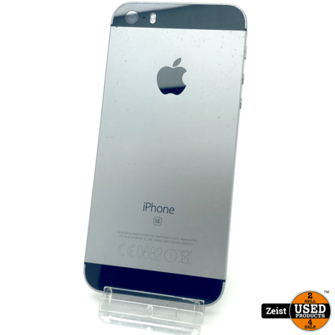 Apple iPhone SE   Spacegrey   16 GB