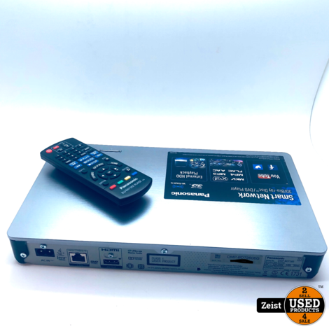 Panasonic DMP-BDT260   3D Blu-Ray Speler   Met Netwerkfunctie