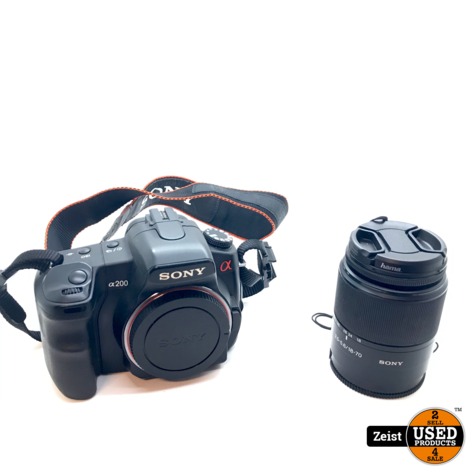 Sony A200 | Spiegelreflex Camera | Met Sony 18-70mm Lens