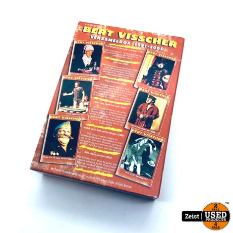 Bert Visscher Verzamelbox 1991-2005   6 DVD