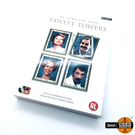 Fawltey Towers De Complete Serie | 3 DVD Box
