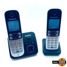 Panasonic KX-TG6823NLB | Huistelefoon met antwoordapp. | 2 Units