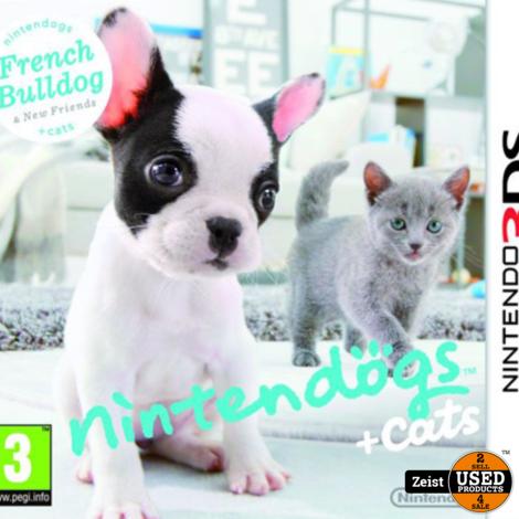3DS Nintendogs + Cats: Franse Bulldog & Nieuwe Vrienden