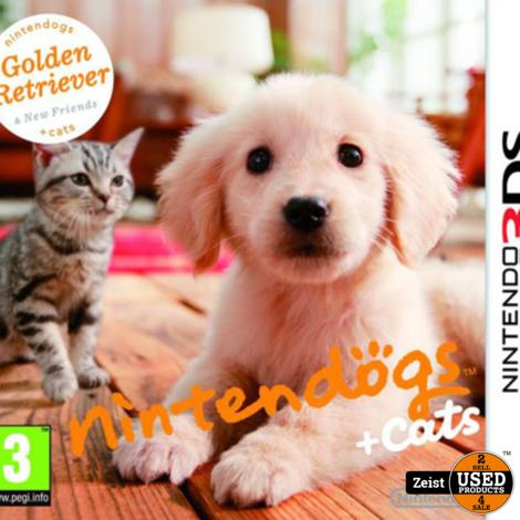 3DS Nintendogs + Cats: Golden Retriever & Nieuwe Vrienden