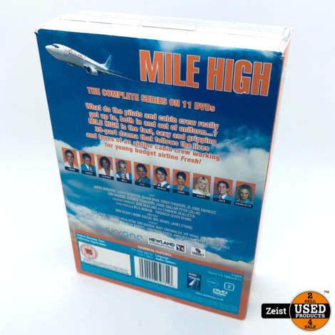 Mile High The Complete Series | 11 DVD Box