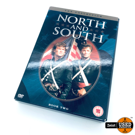 North And South Book 2 | 3 DVD Box