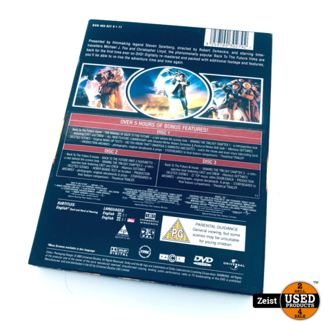Back To The Future Trilogy | 3 DVD Box