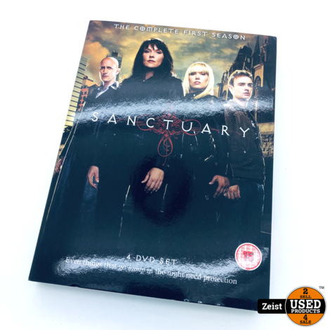 Sanctuary The Complete First Season Import | 4 DVD Box