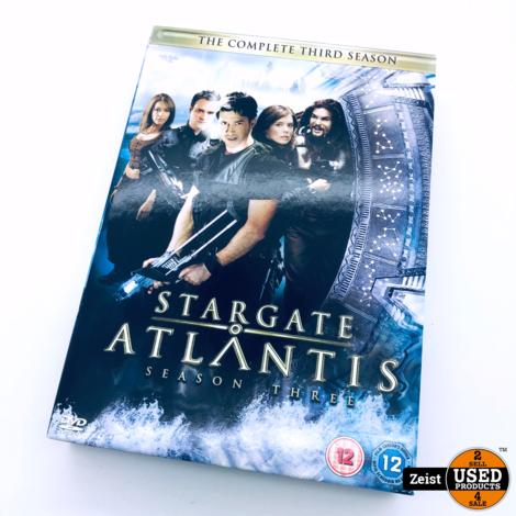 Stargate Atlantis Seizoen 3 | 5 DVD Box