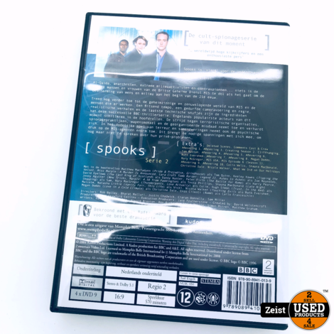 BBC Spooks Serie 2 | 4 DVD Box