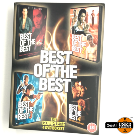 Best Of The Best Collection | 4 DVD