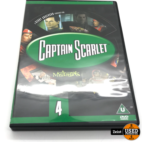 Captain Scarlet And The Mysterons 4 | Import