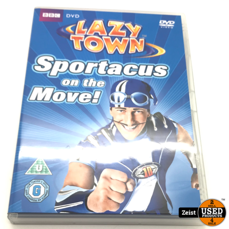 Lazytown: Sportacus On the Move DVD| import