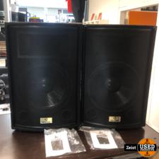 Devine Trono 15 Passive Speakers | 15 Inch | 2 Stuks | Als Nieuw