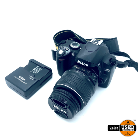 Nikon D40 | Met Kitlens DXII18-55mm en Acculader | Nette Staat