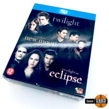 BluRay Twilight Trilogie   Twilight, New Moon & Eclipse   3 Disc Box