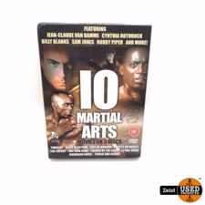 10 Martial Art Movies On 3 Discs