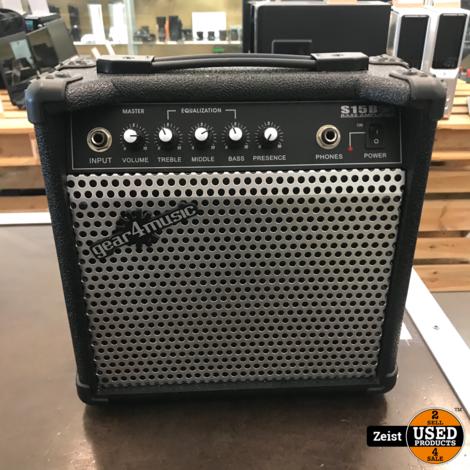Gear4Music S15B   15 Watt   Basversterker