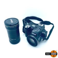Nikon CoolPix E5700 | 4 Accu's | Tele Converter TC-E15ED