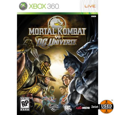 Xbox 360 | Mortal Kombat vs DC Universe