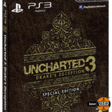 PS3 Uncharted 3: Drake's Deception Special Edition