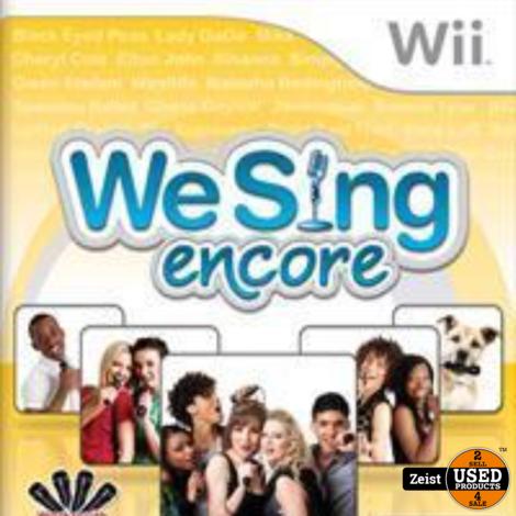 Wii | We Sing Encore (Zonder Microfoon)