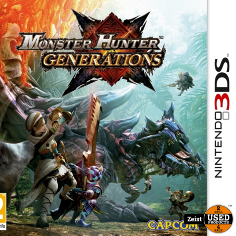 3DS | Monster Hunter: Generations
