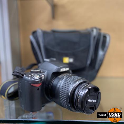 Nikon D60 + Kitlens 18-55mm | Incl Tas