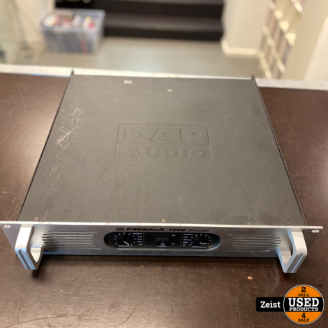 DAP Palladium 1200 Vintage | High power Stereo Amplifier