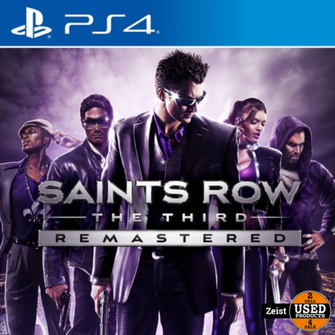 PS4 | Saints Row: The Third Remastered