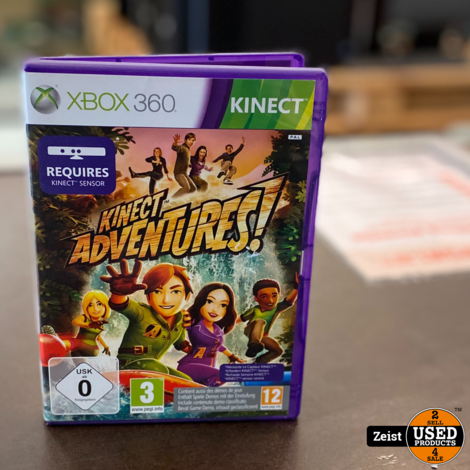 Microsoft Xbox 360 Kinect | Met Kinect Adventures!