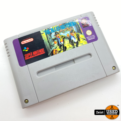 SNES | The Blues Brothers