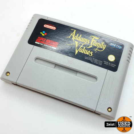 SNES | The Addams Family