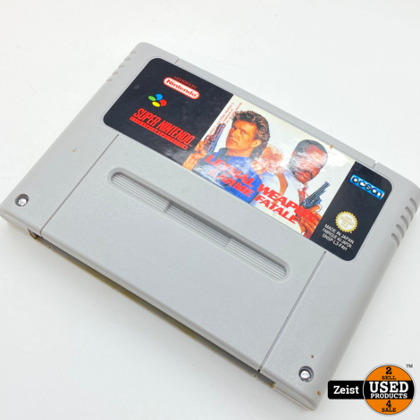 SNES | Lethal Weapon