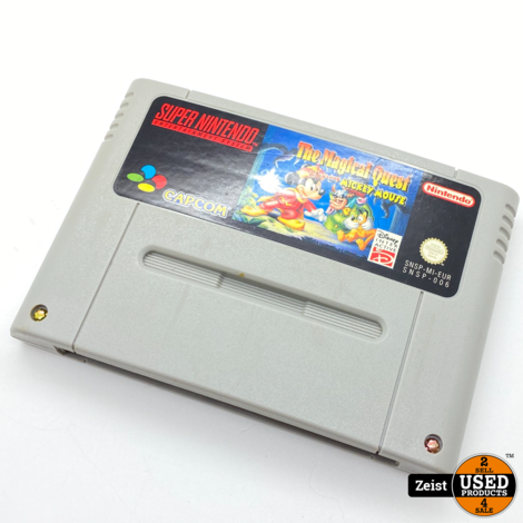 SNES   The Magical Quest Starring Mickey Mouse