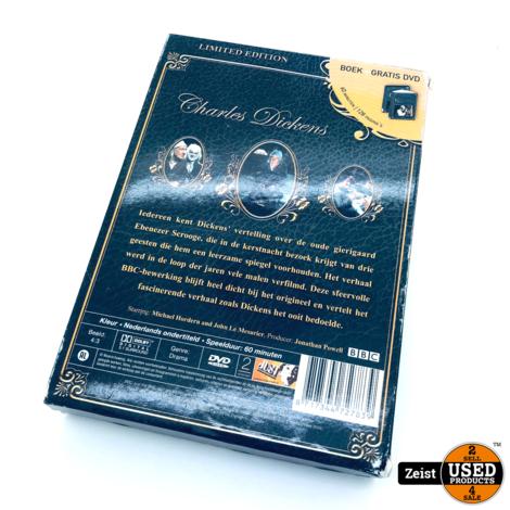 Charles Dickens A Christmas Carol | Boek + DVD