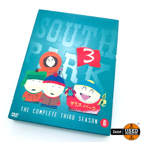 South Park Seizoen 3 | 3 DVDBox