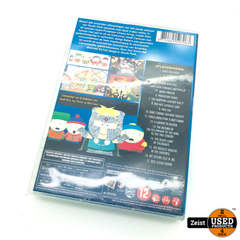 South Park Seizoen 6 | 3 DVDBox