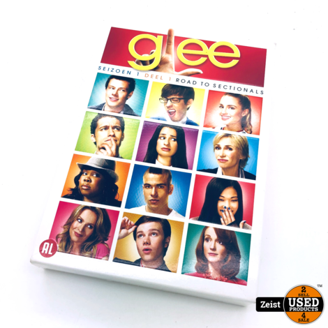 Glee Seizoen 1 Deel 1 Road to Sectionals | 4 DVD box