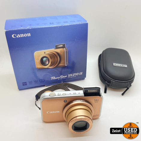 Canon Powershot SX210 IS | Compact Camera | Nette Staat