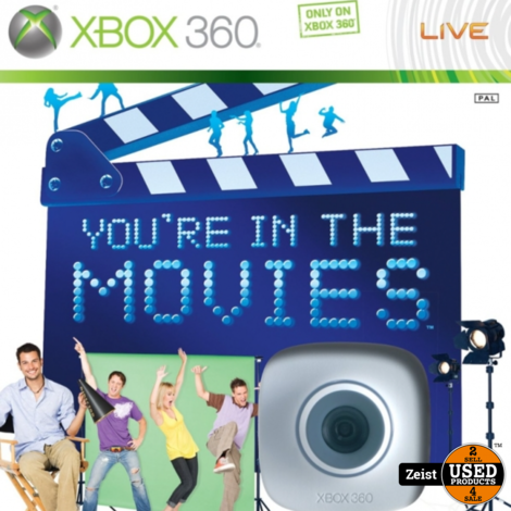 Xbox 360 | You're In The Movies | Incl Camera
