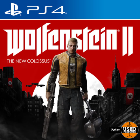 PS4 | Wolfenstein II: The New Colossus