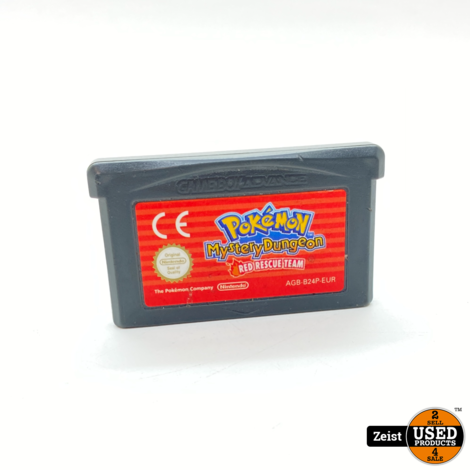 GBA   Pokemon Mystery Dungeon: Red Rescue Team