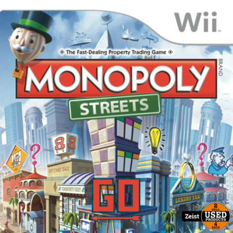 Wii | Monopoly Streets