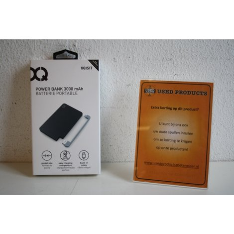 Xqisit Power Bank 3000mAh pocket USB