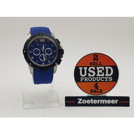 Spinnaker watch men's blue || Nieuw