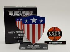 Marvel 1940 captain america shield 1:6