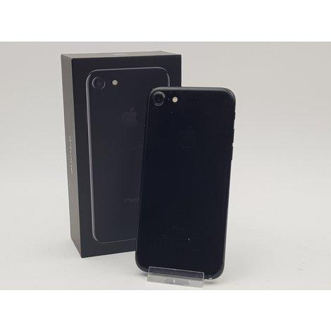 Apple iPhone 7 128GB Zwart (achterkant in mindere staat)
