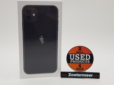 Apple Apple iPhone 11 64GB Black Nieuw in seal